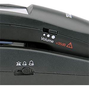 Schnurgebundenes Telefon, schwarz SWITEL TF510