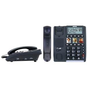 Schnurgebundenes Telefon, schwarz SWITEL TF550