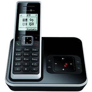 DECT Telefon, schwarz/silber TELEKOM 40266562
