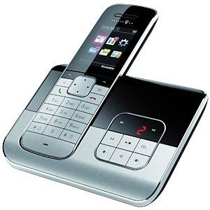 DECT telephone black, AM TELEKOM 40259744