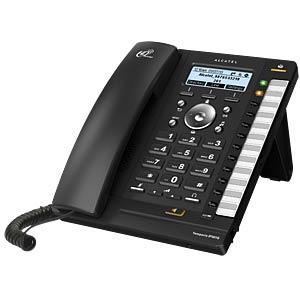 VoIP Telefon, schnurgebunden, schwarz ALCATEL HOME & BUSINESS ATL1414653