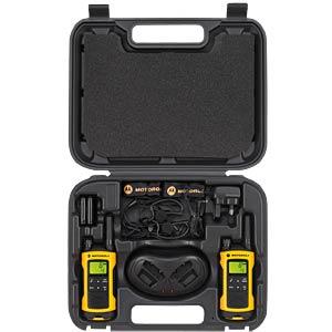 PMR Funkgerät, 2-er Set, IPX4, gelb MOTOROLA TLKR T80 EXTREME