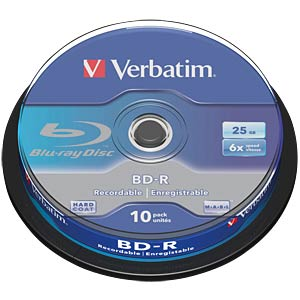 Verbatim Blu-ray disc 25 GB spindle of ten VERBATIM 43742