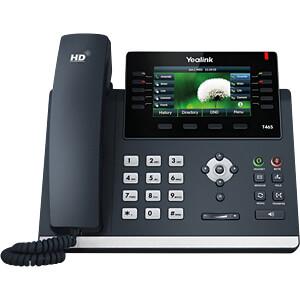VoIP Telefon, schnurgebunden, schwarz YEALINK SIP-T46S