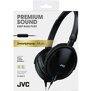 Headset, On Ear, schwarz JVC HASR625BE