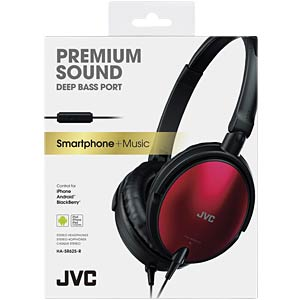 On-Ear Kopfhörer / rot JVC HASR625RE