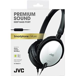 Lightweight headphone / white JVC HASR625WE