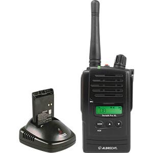 PMR radio zwart / IP54 ALBRECHT 29786