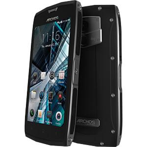 """Smartphone, 12,70 cm (5,0"""") Outdoor, 32GB, schwarz ARCHOS 503528"""