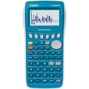 Graphic calculator CASIO FX-7400G II