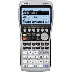 Graphic calculator CASIO FX-9860G II