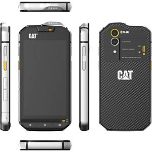 Dual-SIM Outdoor Smartphone 11,94 cm (4,7) CAT CS60-DEB-EUR-EN
