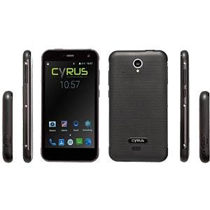 """Smartphone, 12,70 cm (5,0"""") Outdoor, 32GB, schwarz CYRUS CS28"""