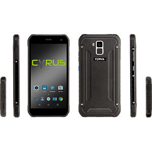 "Smartphone, 13,20 cm (5,2"") Outdoor, 32GB, schwarz CYRUS CS40"