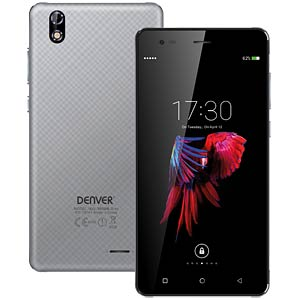 "Smartphone, 13,97 cm (5,5"") IPS, 16GB, grau DENVER 13655030"