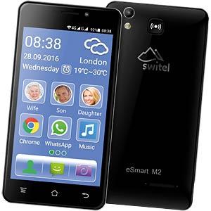"Smartphone, 12,70 cm (5,0"") TFT-Display, Notruf SWITEL ESMART M2"