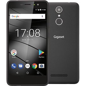 "Smartphone, 12,70 cm (5,0"") Oncell-IPS, 16GB, schwarz GIGASET COMMUNICATIONS S30853-H1502-R101"