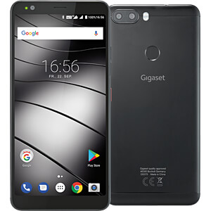 "Smartphone, 14,40 cm (5,7"") Incell-IPS, 32GB, schwarz GIGASET COMMUNICATIONS S30853-H1505-R101"