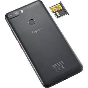 "Smartphone, 14,40 cm (5,7"") Incell-IPS, 64GB, Jet Black GIGASET COMMUNICATIONS S30853-H1506-R101"