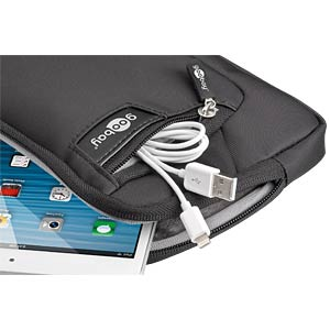 "Nylon case for tablets/phablets up to 8"" GOOBAY 43526"