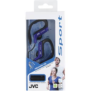 Headset, In Ear, blau JVC HAEBR25AE