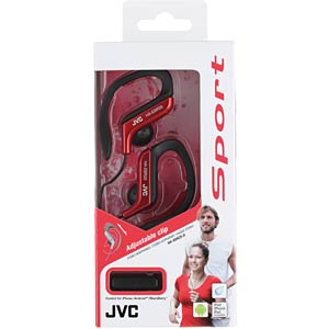 Ear clip headphone / red JVC HAEBR25RE