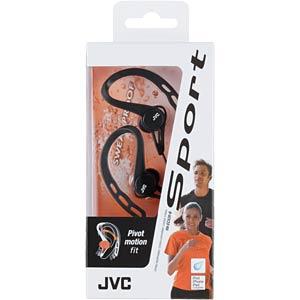 Sport Style-Clip-Kopfhörer, schwarz JVC HAECX20BE
