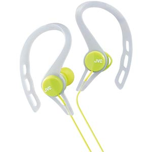 Inner ear headphones for running / green JVC HAECX20GE