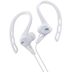 Inner ear headphones for running / white JVC HAECX20WE
