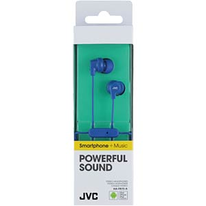 Headset, In Ear, blau JVC HAFR15AE