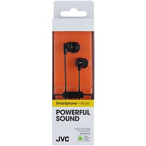 Inner ear headphone / black JVC HAFR15BE