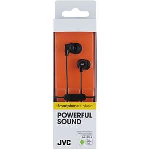 In-Ear hoofdtelefoon/zwart JVC HAFR15BE
