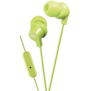 Inner ear headphone / green JVC HAFR15GE