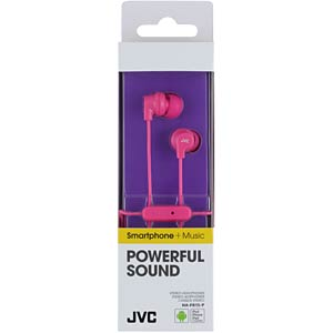 Headset, In Ear, pink JVC HAFR15PE