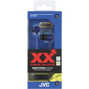 Headset, In Ear, blau JVC HAFR202AE