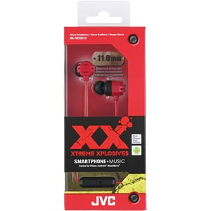 In-Ear Kopfhörer / rot JVC HAFR202RE