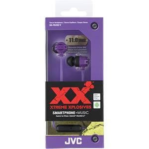 Inner ear headphone/ violet JVC HAFR202VE