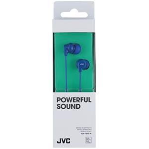 In-Ear hoofdtelefoon/blauw JVC HAFX10AE