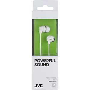 Inner ear headphone/ white JVC HAFX10WE