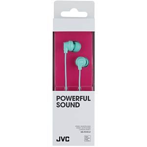 Inner ear headphone/ turquise JVC HAFX10ZE