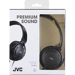 On-ear hoofdtelefoon / zwart JVC HAS520BE