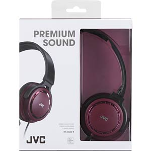 On-Ear Kopfhörer / rot JVC HAS520RE