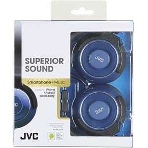 Headset, On Ear, blau JVC HASR225AE