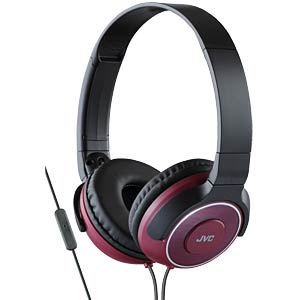 Lightweight headphone / red JVC HASR225RE