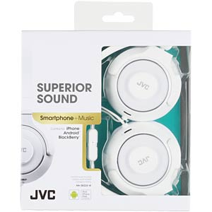Lightweight headphone / white JVC HASR225WE