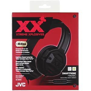 Headset, On Ear, schwarz JVC HASR50XE