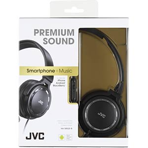 Lightweight headphone / black JVC HASR525BE