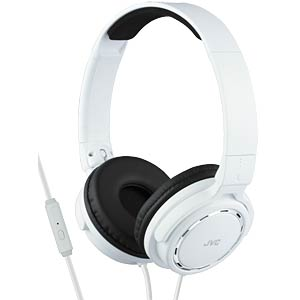 On-ear hoofdtelefoon / wit JVC HASR525WE