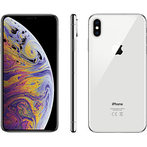 "Smartphone, 16,50 cm (6,5"") Display, 512GB, silber APPLE MT572ZD/A"
