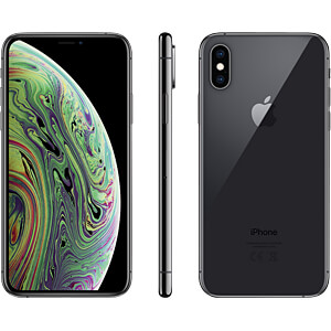 "Smartphone, 14,86 cm (5,8"") Display, 64GB, spacegrau APPLE MT9E2ZD/A"